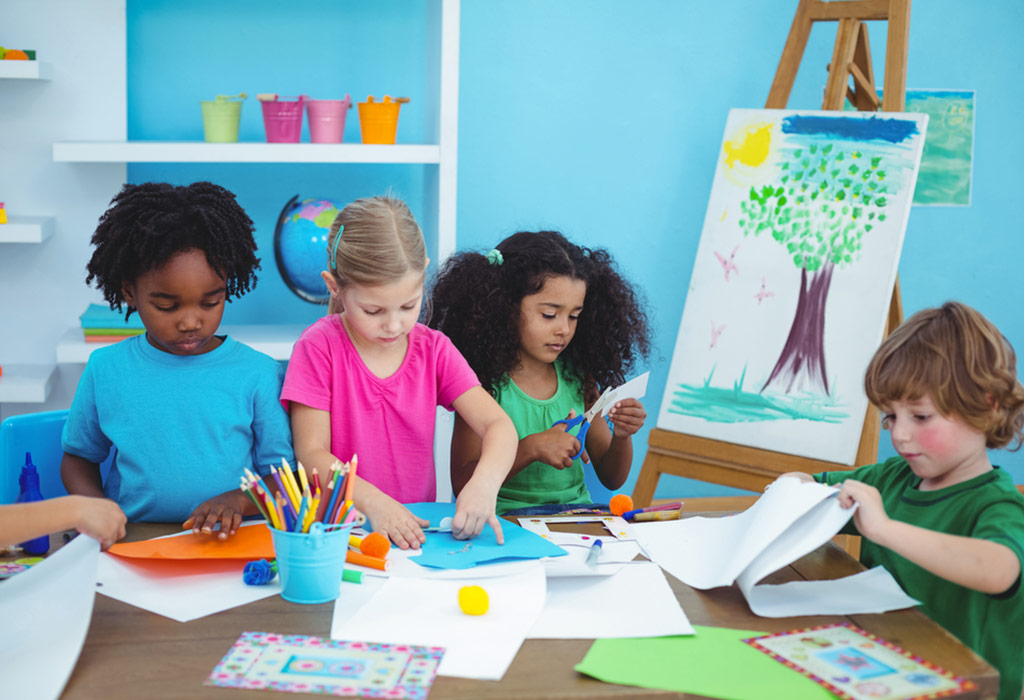 A guide to kid's creative activities